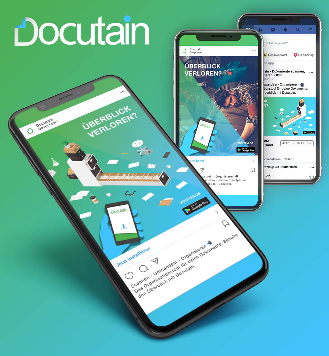 DOCUTAIN Mobile App Marketing
